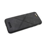 Силиконовый чехол Samsung Galaxy A80 Santa Barbara, прострочка крестом, черный