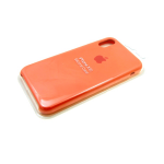 Силиконовый чехол Xiaomi Redmi 7a Silicone case High-end TPU Case, soft-touch, бархат, персиковый