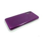 Силиконовый чехол Iphone 7/8 plus Silicone Case, баклажан в блистере