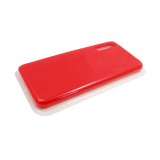 Силиконовый чехол Samsung Galaxy A80 Silicone case High-end TPU Case, soft-touch, бархат, красный