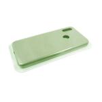 Силиконовый чехол Iphone 7 Plus/8 Plus Silicone case High-end TPU Case, soft-touch без лого, оливков