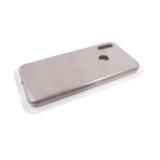 Силиконовый чехол Xiaomi Redmi 8a Silicone case High-end TPU Case, soft-touch, бархат, темно-серый