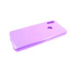 Силиконовый чехол Samsung Galaxy A21s Silicone case High-end TPU Case, soft-touch без лого, светло-с