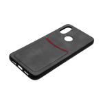 Силиконовый чехол ILEVEL визитница для Xiaomi Redmi GO (2019) черный