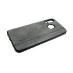Силиконовый чехол Samsung Galaxy A30 Topshine под кожу, серый