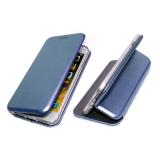 Чехол-книга Fashion Case Huawei Honor 9c с силиконовым основанием и магнитом, голубой