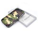 Чехол-книга Fashion Case Samsung A605G Galaxy A6+ (2018) с сил основанием и магнитом, камуфляж