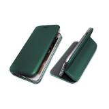 Чехол-книга Fashion Case Huawei Honor 8X с силиконовым основанием и магнитом, изумрудный
