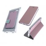 Чехол-книга Monarch Elite Iphone X (10) с силиконовым основанием розовое золото
