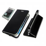 Чехол-книга Monarch Elite Samsung G925 Galaxy S6 Edge с силиконовым основанием черный