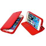 Чехол-книга NEW CASE горизонтальный с силиконовым основанием для Samsung Galaxy A3 2016 красный