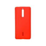 Силиконовая накладка Cherry для Nokia 8 красный
