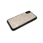 Силиконовый чехол Iphone 5/5S с пайетками, меняет цвет одним движением, золотой