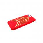 Силиконовый чехол Samsung A530F Galaxy A8 2018 с шипами, красный