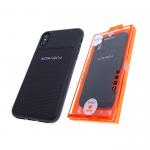 Силиконовый чехол Samsung J530 Galaxy J5 2017 MONARCH Elegant с фирменным логотипом, черный