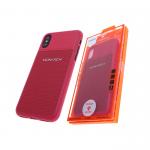 Силиконовый чехол Samsung J530 Galaxy J5 2017 MONARCH Elegant с фирменным логотипом, красный
