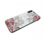 Силиконовый чехол Xiaomi Redmi Note 5A Узоры цветы-кувшинки со стразами