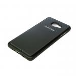 Силиконовый чехол Meizu M5S Кожа с логотипом черный