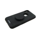 Задняя крышка Xiaomi Redmi Note 5A Prime MOTOMO с попсокет, черная