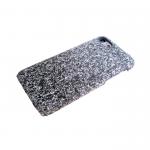 Чехол для Samsung J530 Galaxy J5 2017 усыпанная блестками, двухцветная, серебро+серый