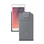 Deppa Чехол для смартфонов Flip Fold M 4.3''-5.5'', серый