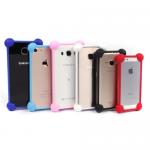 Универсальный силиконовый бампер для смартфона 3.0-5.0 арт.009138(красный)