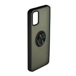 Накладка задняя FaisON для XIAOMI Note 10 PRO MAX, CA-22, Ring Series 2, матовая, держатель, чёрный