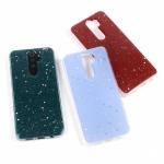 Чехол ТПУ со звездочками для Xiaomi Redmi Note 8 Pro, арт.011519 (Красный)