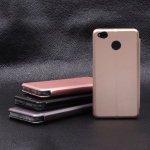Чехол-книжка для Xiaomi Redmi 4X, арт.009805 (Розовое золото)