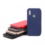 Чехол-книжка для Xiaomi Redmi 7, арт.009805 (Синий)