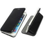 Чехол-книга Fashion Case Xiaomi Redmi 5a с силиконовым основанием и магнитом, черный