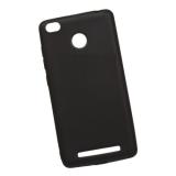 Накладка силиконовая для Xiaomi Redmi 3S, черная