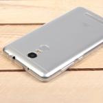 Силиконовый чехол для Xiaomi Redmi Note 3/3 Pro, 1 мм, арт.008291-1 (Прозрачный)