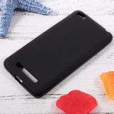 Чехол силиконовый для XIAOMI Redmi 4A, тонкий, непрозрачный, матовый, цвет: чёрный, в техпаке