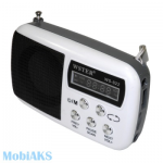 Колонка-радио приёмник WS882 (белая)