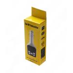 FM-трансмиттер без бренда, BEST QUALITY, 1 USB, AUX, microSD, пластик, дисплей, пульт, цвет: белый