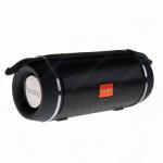 Колонка портативная FaisON, BRIGH, пластик, Bluetooth, USB, AUX, цвет: чёрный