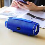 Колонка портативная Borofone, BR3, Beyond, металл, Bluetooth 5.0, FM, AUX, microSD, микро, синий