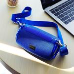 Колонка портативная Borofone, BR4, Horizon, пластик, Bluetooth, USB, microSD, AUX, цвет: синий
