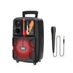 Активная напольная акустика HOCO BS37 Dancer outdoor wireless speaker, цвет: черный