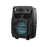 Активная напольная акустика HOCO DS07 Force wireless speaker с микрофоном, цвет: черный