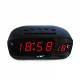 Часы эл. VST803-1 часы крас.цифры+блок/80