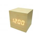Часы эл. VST869-1 крас.цифры (СВЕТЛО-коричневый)/30/120