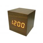 Часы эл. VST869-1 крас.цифры (ТЕМНО-коричневый)/30/120