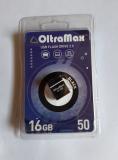 Флеш-накопитель 16Gb OltraMax Drive 50 Mini, USB 2.0, пластик, чёрный