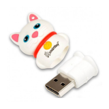 Флеш-накопитель USB  16GB  Smart Buy  Wild series  Catty  белый