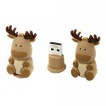 Флеш-накопитель USB  16GB  Smart Buy  Wild series  Олень касабланка-Q