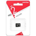 Карта памяти microSDHC 2Gb SmartBuy, без адаптера