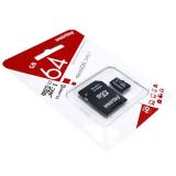 Карта памяти microSDXC 64Gb SmartBuy, Class10, с адаптером