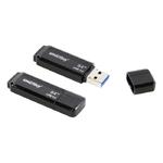 Флеш-накопитель 64Gb SmartBuy Dock, USB 3.0, пластик, чёрный